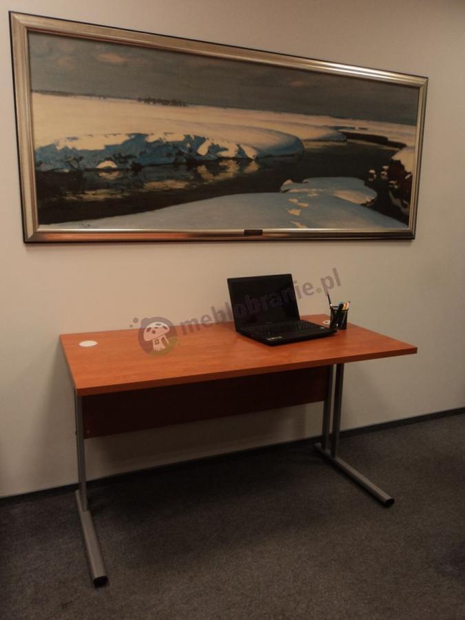 Biurko biurowe Svenbox BM073 w kolorze calvados