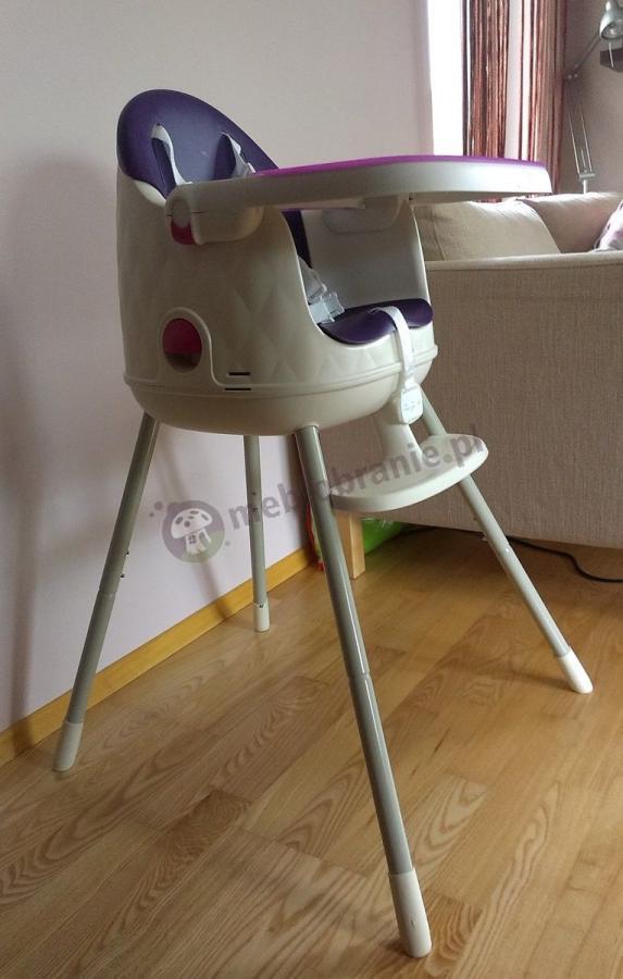 Curver Keter krzesło do karmienia Multidine fioletowe