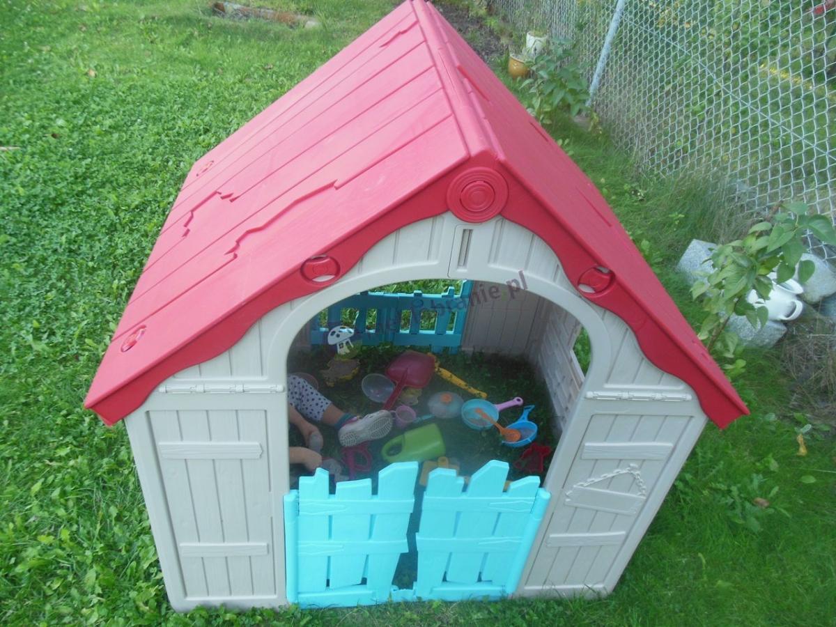 Domek dla dzieci na podwórko Keter Playhouse składany