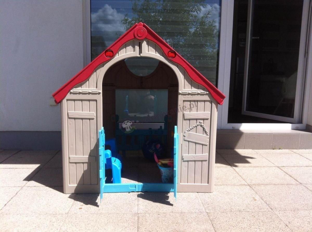 Domek dla dziecka składany do rozmiaru walizki Keter Foldable