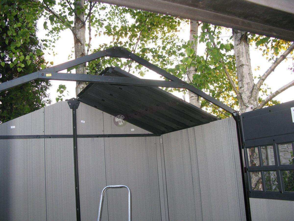 Domek ogrodowy Keter Oakland montaż dachu