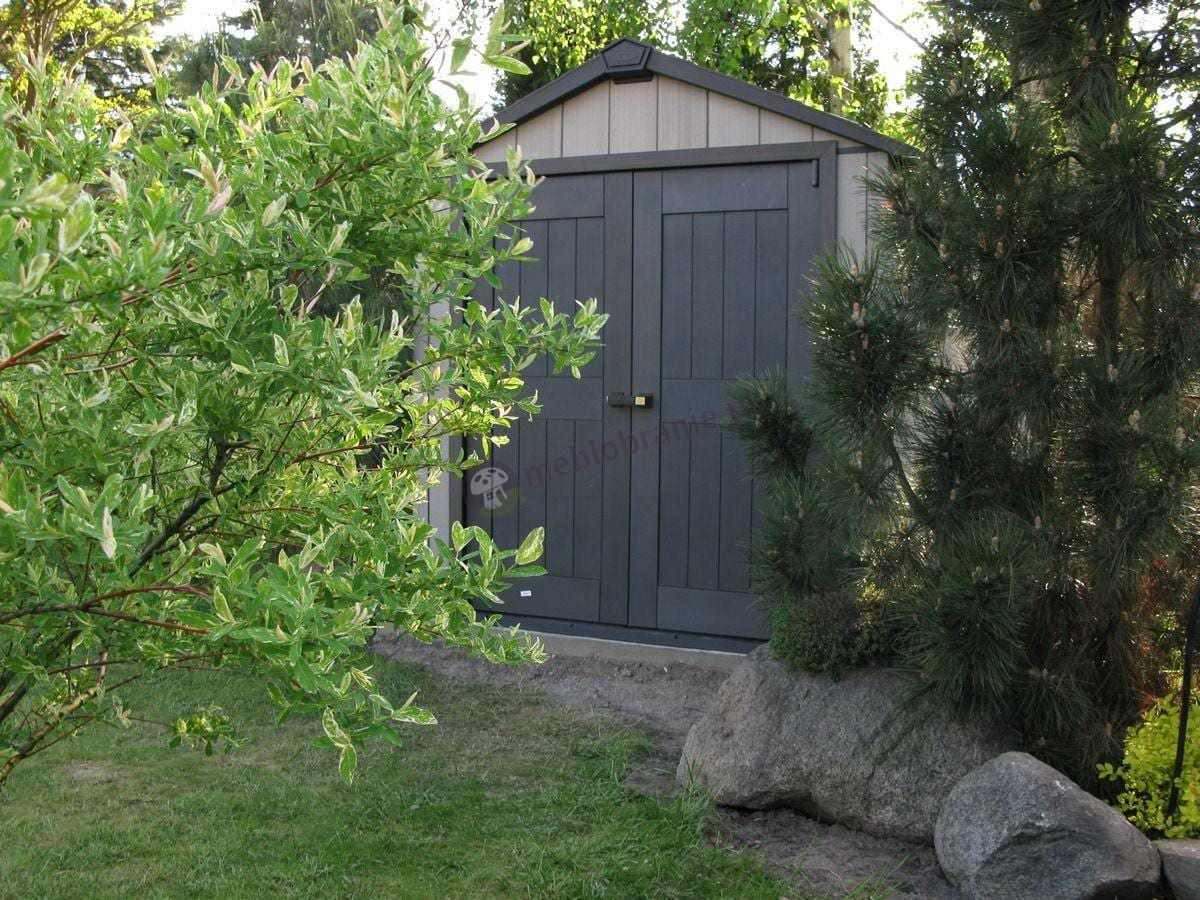 Domek ogrodowy z tworzywa sztucznego Keter Oakland
