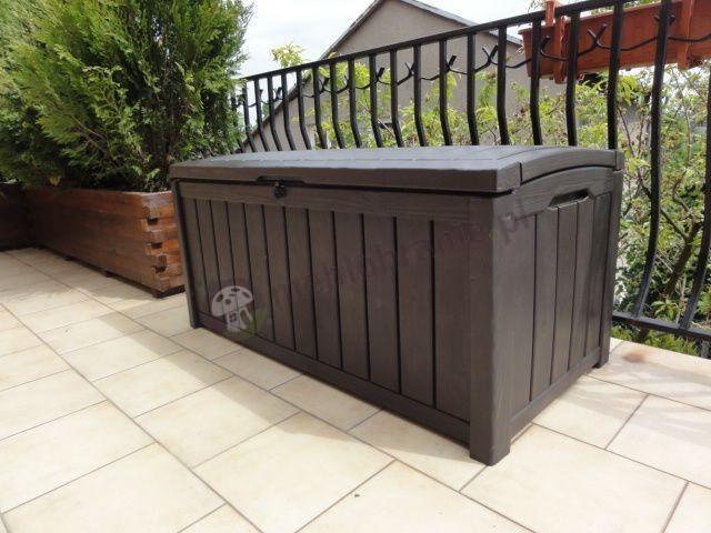Duża skrzynia ogrodowa Keter Glenwood Box 390L