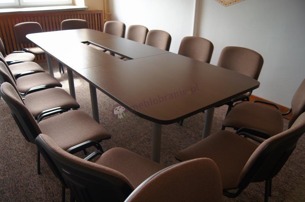 Duży stół konferencyjny dla 10 osób Samba