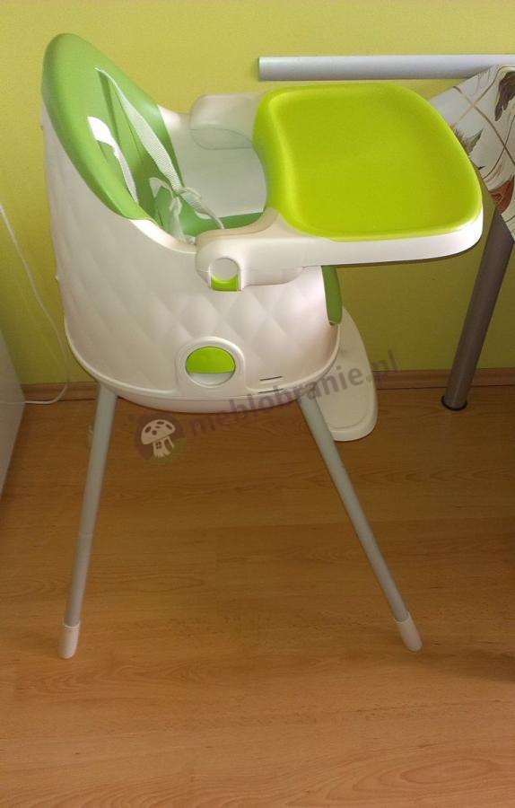 Fotel do karmienia Keter Muldine zielony