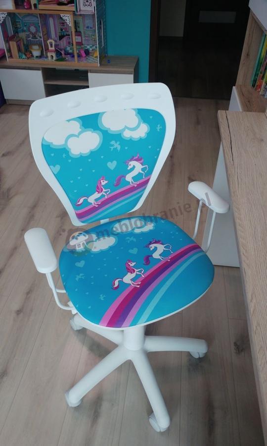 Fotel do pokoju dziecięcego Ministyle White Pony