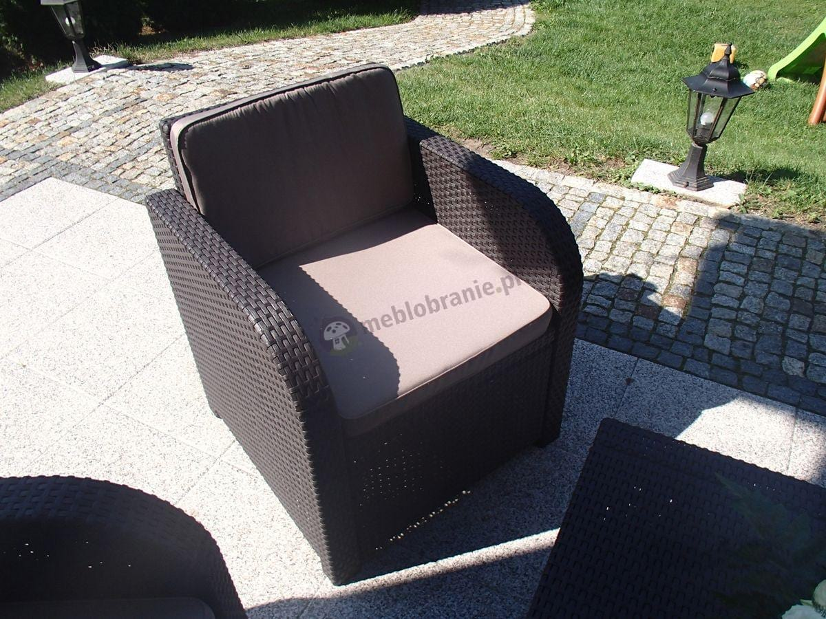 Fotel ogrodowy z kompletu mebli Modena Lounge Set
