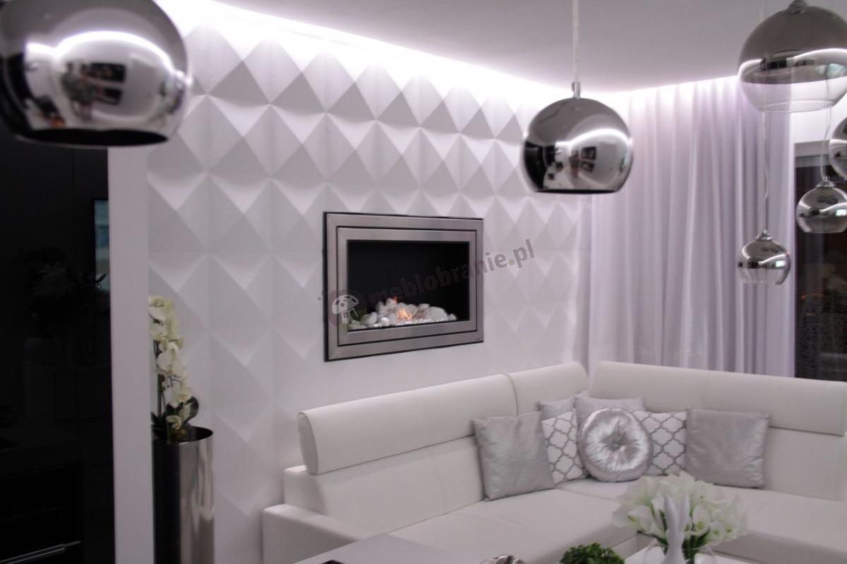 Gipsowe panele diamenty firmy Loft Design System 3D