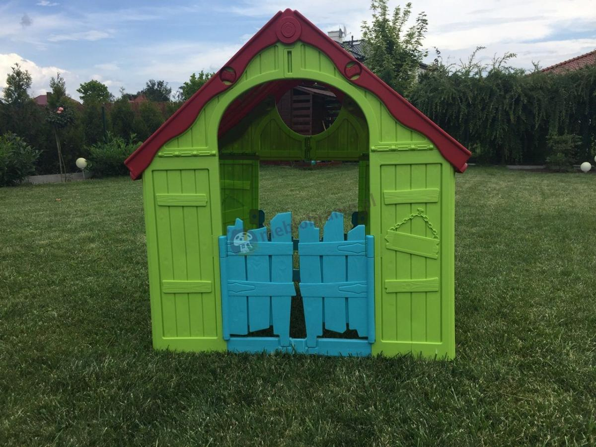 Keter domek plastikowy dla dzieci w ogrodzie