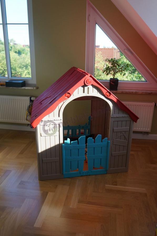 Kolorowy domek dla dzieci do ogrodu Keter