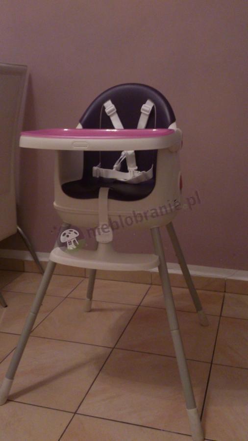 Krzesełka dla dzieci do jedzenia Keter fioletowe