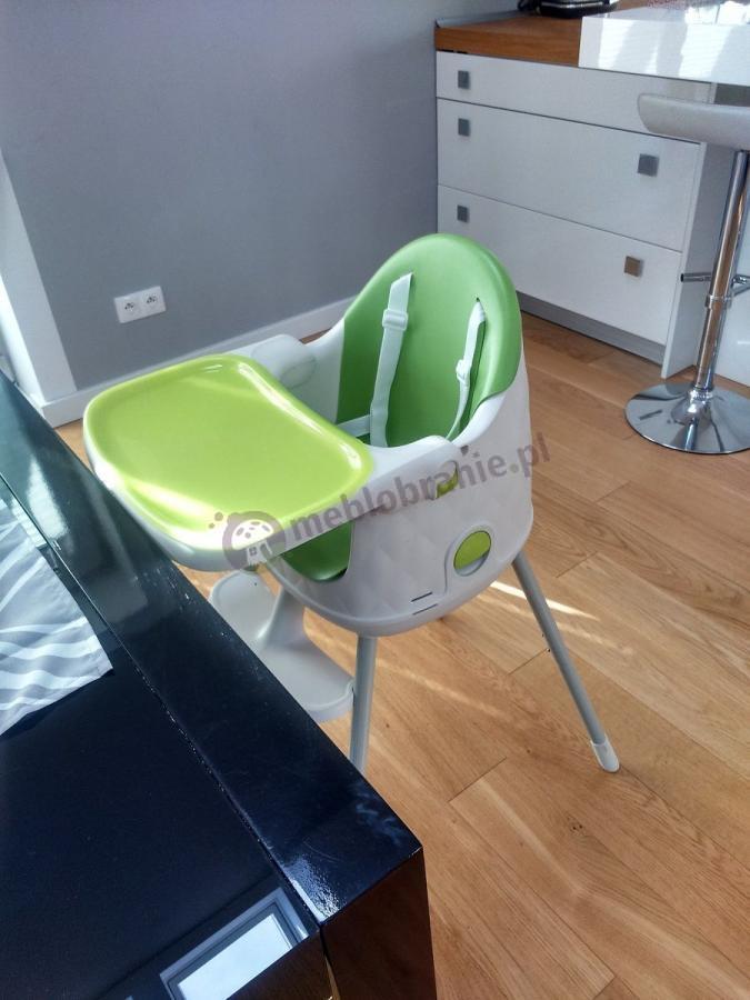 Krzesełko dziecięce do karmienia w zielonym kolorze Keter Multidine