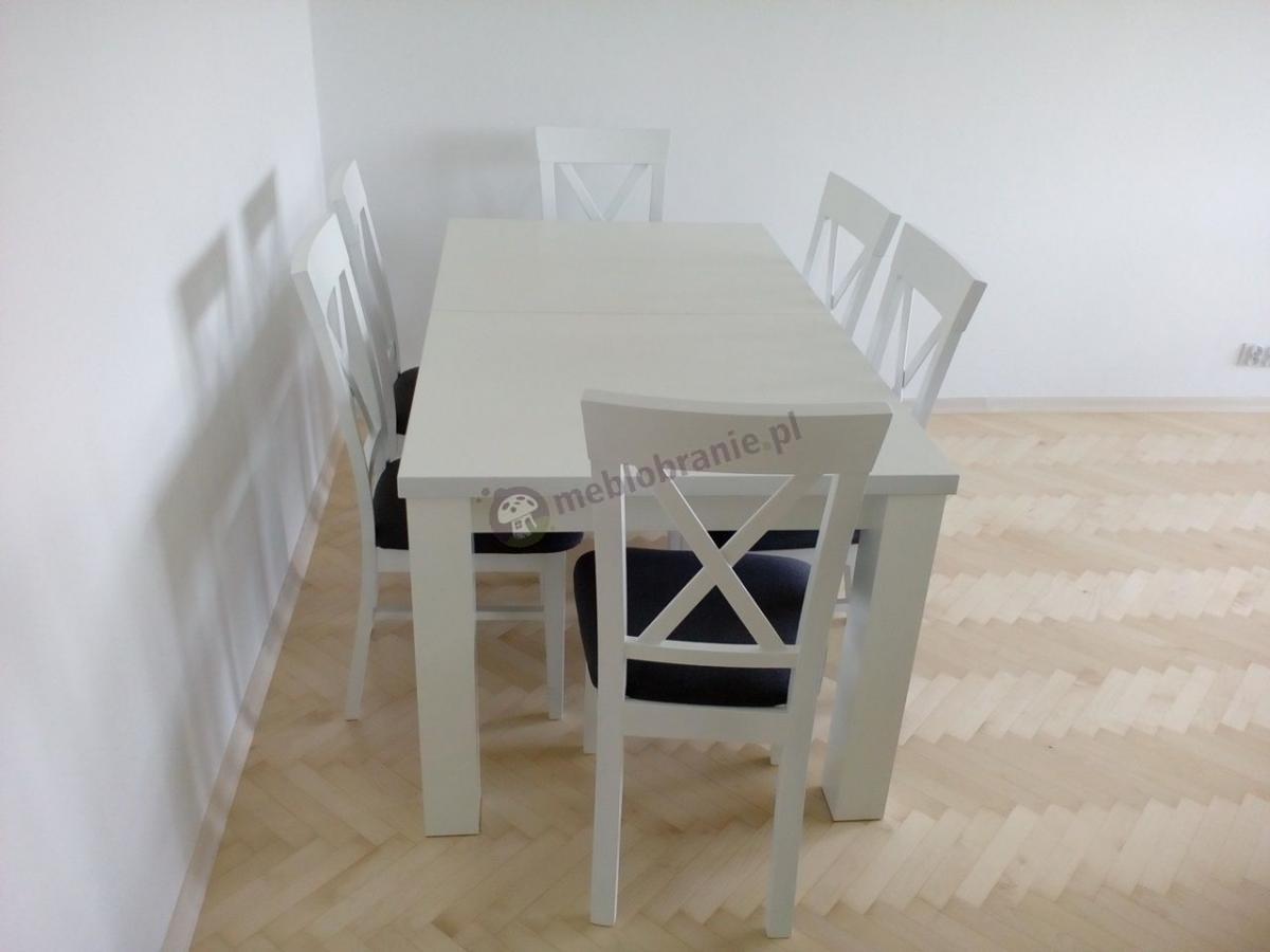 Krzesła i stoły do jadalni nowoczesne w stylu skandynawskim