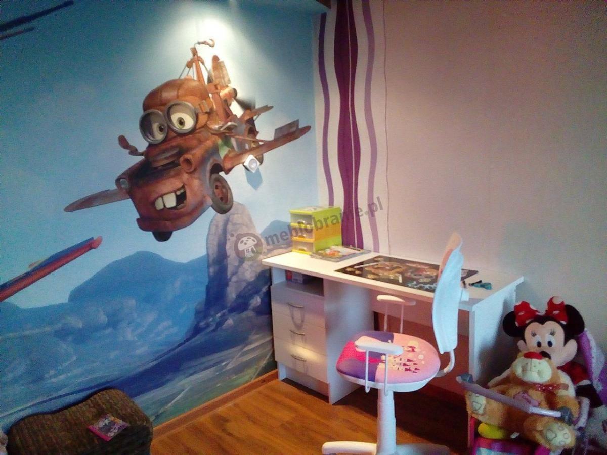 Krzesło dla dziewczynki do biurka dziecięce Ministyle Princess