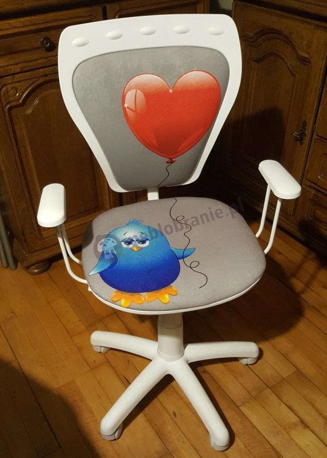 Krzesło Ministyle White Serce i Kurczak