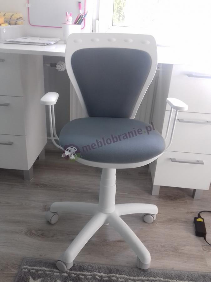 Krzesło obrotowe dziecięce Ministyle white gtp ts22