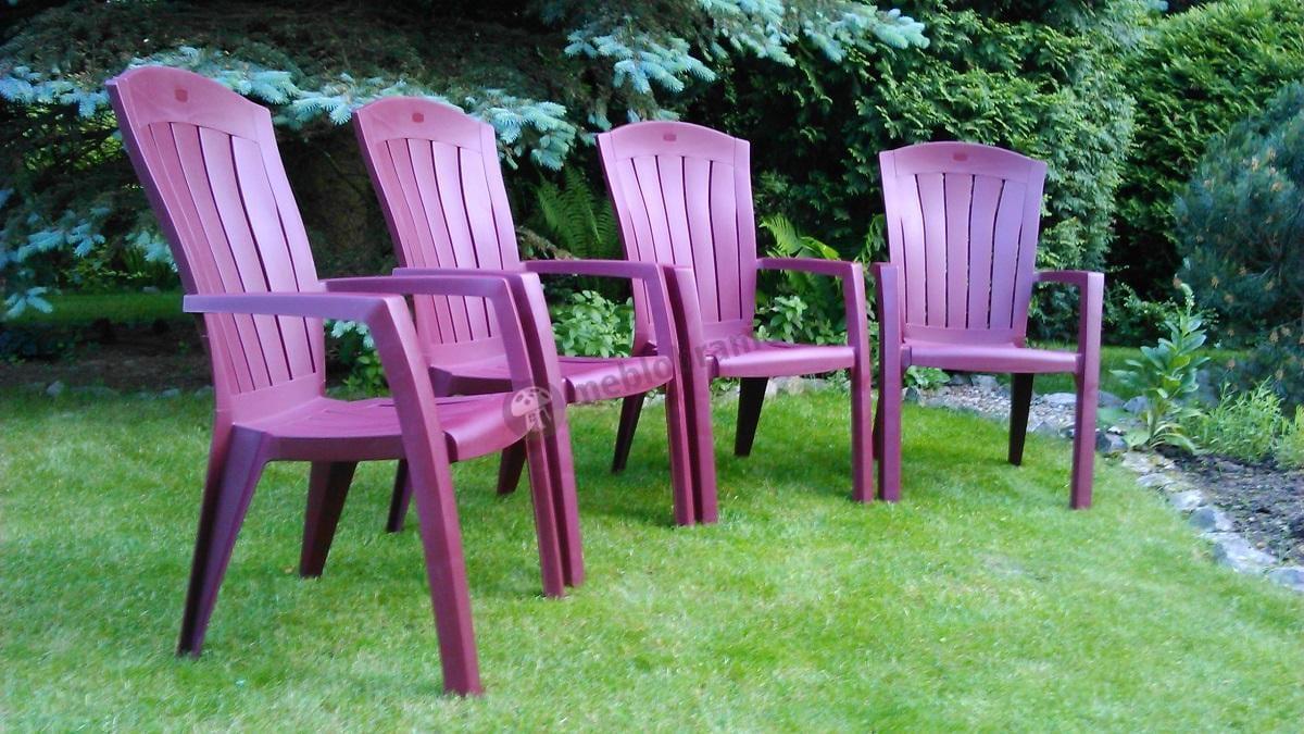 Krzesło ogrodowe z tworzywa sztucznego Santorini Curver