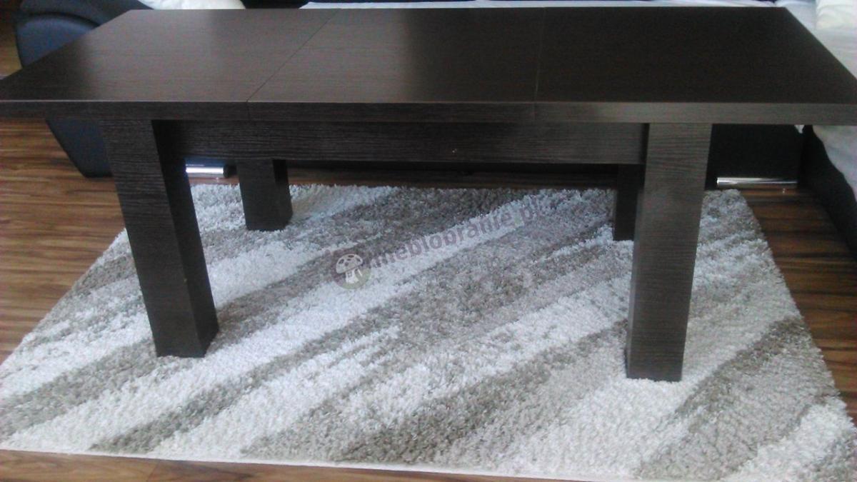 Ława rozkładana na stół w odcieniu wenge luisiana