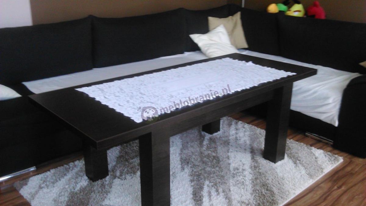 Ława stół rozkładana Arizona używana w eleganckim salonie