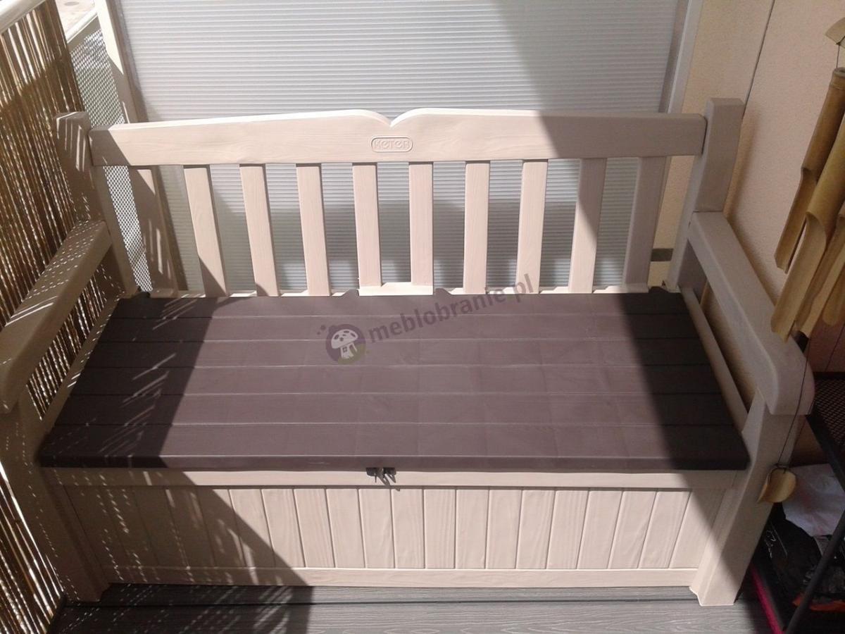 Ławka ze skrzynią na balkon Eden Garden Bench 265L