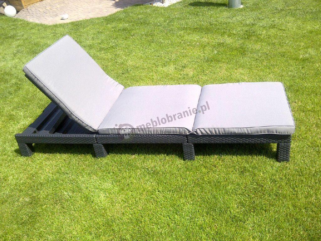 Leżak składany łóżko ogrodowe plażowe Daytona