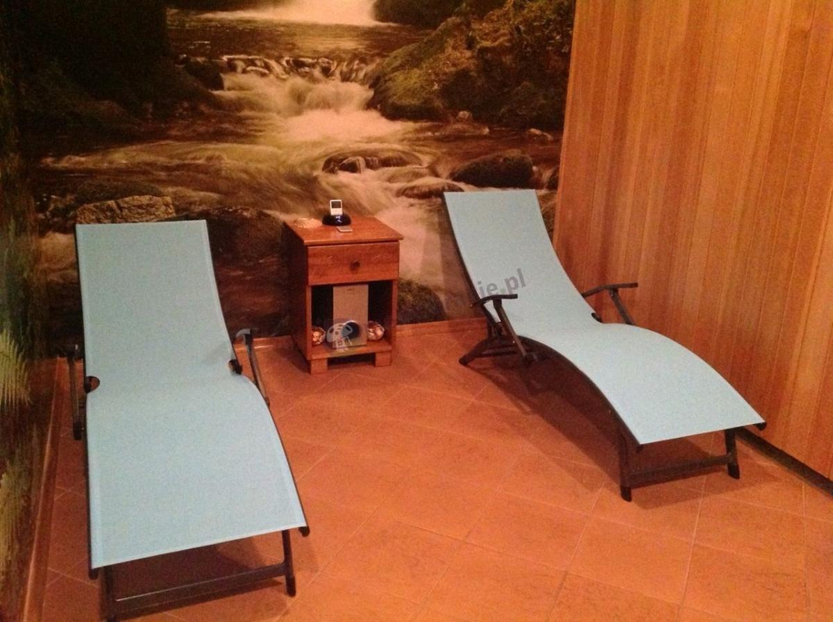 Leżaki plażowe aluminiowe składane używane w pokoju wypoczynkowym