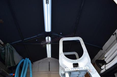 Domek narzędziowy Keter Factor świetlik pod dachem