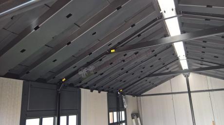Domek narzędziowy Keter Oakland 7511 - zdjęcie wnętrza