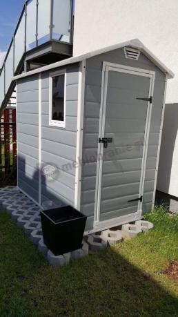Domek ogrodowy z daszkiem Keter Manor 4x6 S