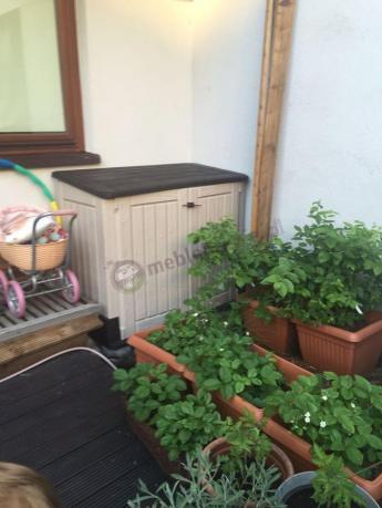 Duża skrzynia ogrodowa plastikowa Keter Store It Out