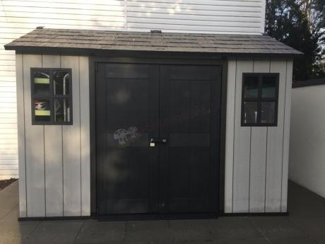 Duży domek ogrodowy Keter Oakland 1175SD z podwójnymi drzwiami
