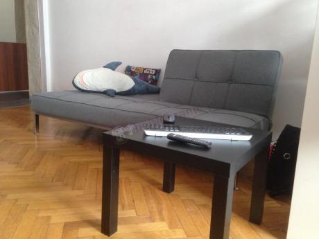 Elegancka sofa rozkładana Actona Perugia szara