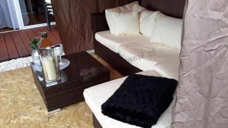 Gardinetta producent mebli technorattan modułowa sofa Nilamito
