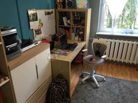 Krzesło ergonomiczne dla dziecka Ministyle White Kot i Mysz