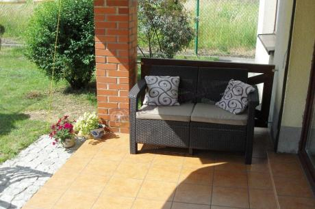 Meble Corfu Curver sofa Corfu Love Seat