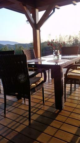 Nassico zestaw mebli ogrodowych technorattan stół i krzesła