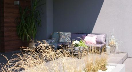 Nevada Low narożnik ogrodowy używany na tarasie