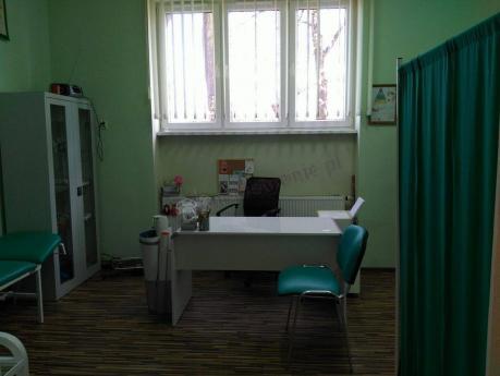 Nowoczesne białe biurko do gabinetu lekarskiego Murano