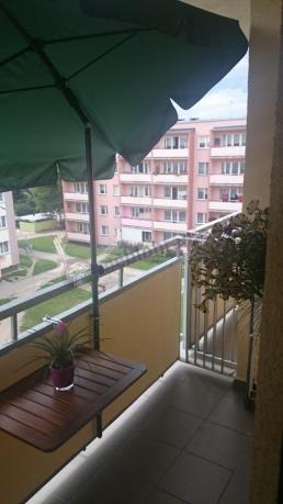 Parasol Przeciwsłoneczny Na Balkon Sunline Zielony