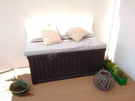 Praktyczna skrzynia na taras Keter Rockwood Box