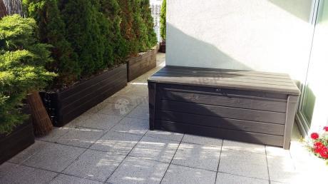 Skrzynia ogrodowa z tworzywa sztucznego Keter Brightwood Box