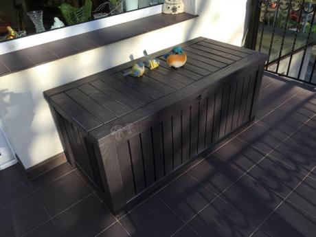 Skrzynia z siedziskiem na balkon Rockwood Box 570L