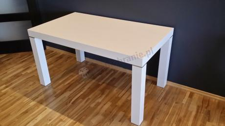 Stół do jadalni biały połysk model Capri