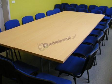 Stół konferencyjny drewniany o wymiarach 180x80cm