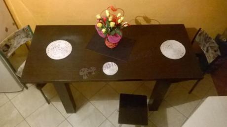 Stół kuchenny rozsuwany Luizjana widok z góry