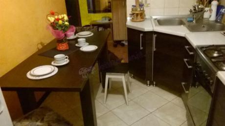 Stół rozsuwany kolor wenge luisiana z jasną zastawą
