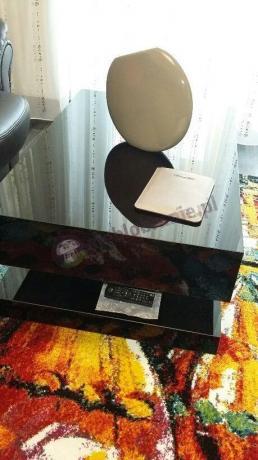 Stolik do salonu długość 90 cm wysokość 45 cm