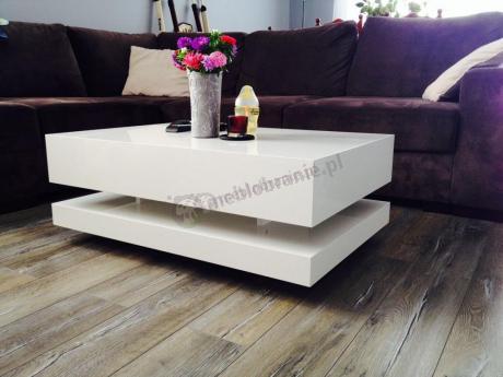 Stolik kawowy z efektem lewitacji, unoszenia nad podłogą Tora