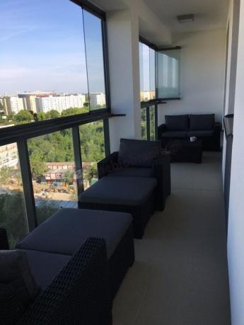 Zestaw balkonowy Moorea 5 z dwoma leżakami i stolikiem kawowym