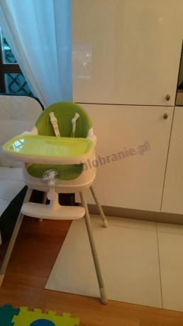 Zielone krzesełka dla dzieci do jedzenia Keter